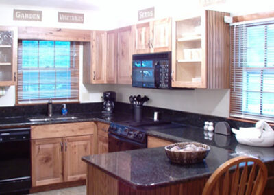 Forge Valley Event Center   beautiful kitchen in the cottage
