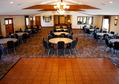 Forge Valley Event Center   indoor event area