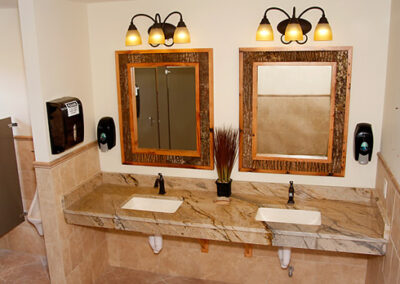 Forge Valley Event Center   men's restrooms, bathrooms, facilities