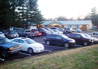Forge Valley Event Center   parking close to event location