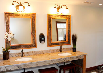 Forge Valley Event Center   women's dressing area