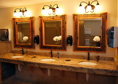 Forge Valley Event Center   beautiful women's restrooms, bathrooms, facilities
